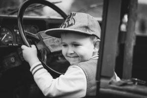 子供ドライバー