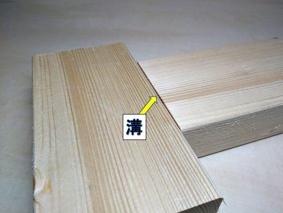 2×4材の木端と木口の接合