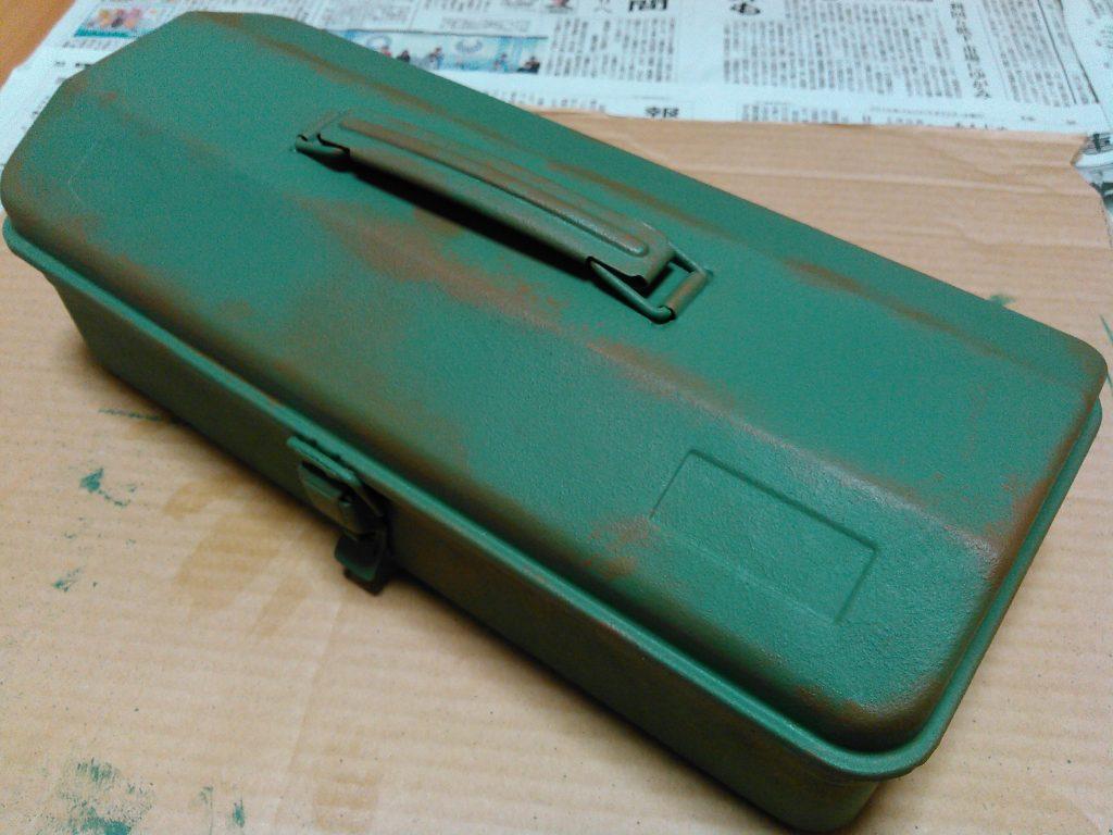 ダークカーキー塗装