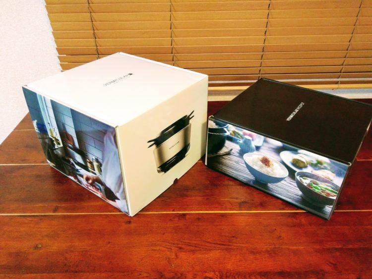 箱にオシャレな写真