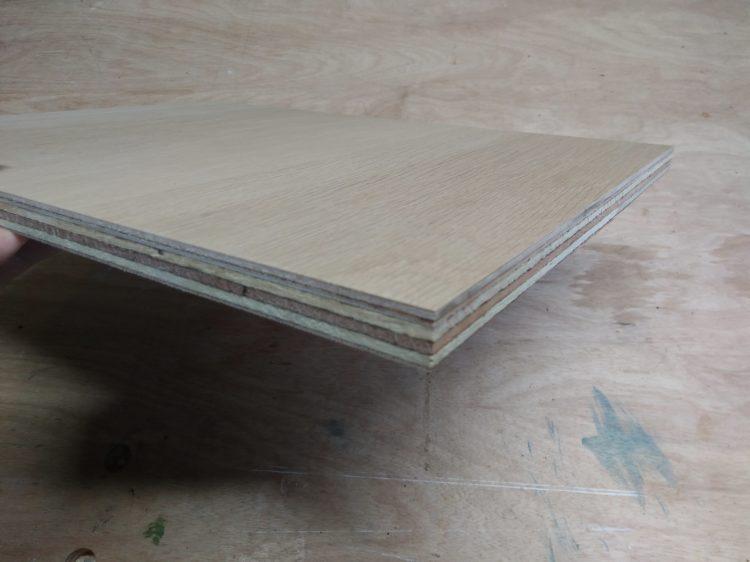 木口・木端面の積層