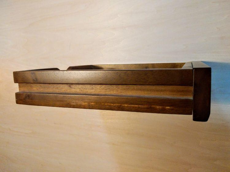 引き出し側板に溝ほり加工