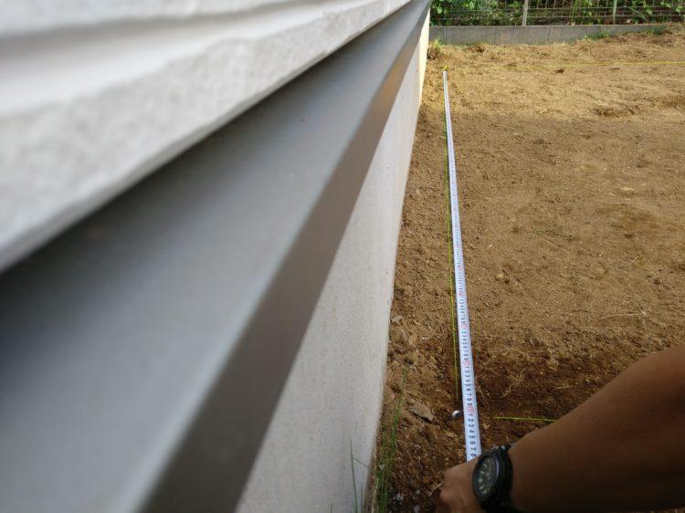 基準点から寸法を測る