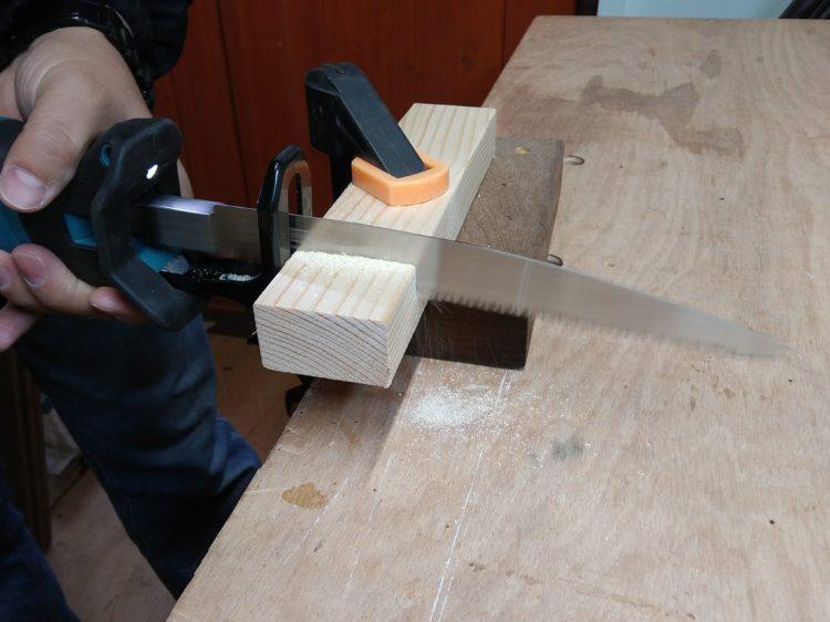 木工用(鋸タイプ)レシプロソーブレードによる切断