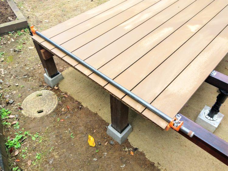 固定位置の修正・材の反り修正
