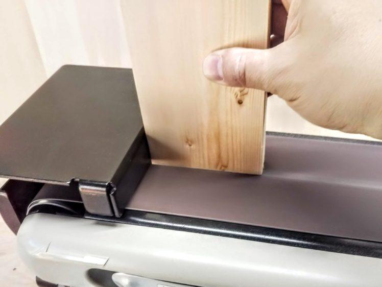 木口面の研削
