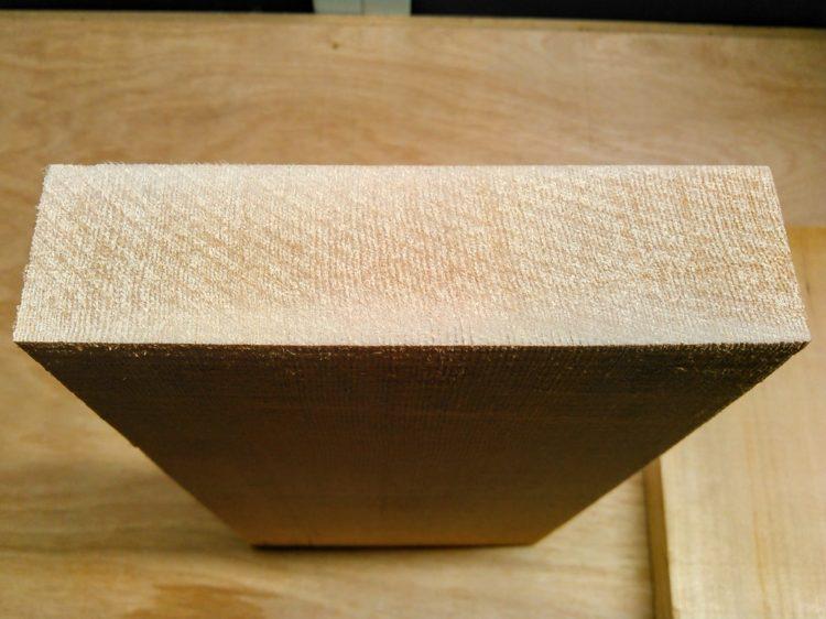 柾目板・木口面