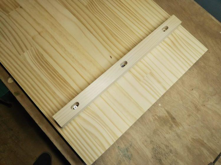 木製桟木のねじ止めによる吸付きざん接ぎ