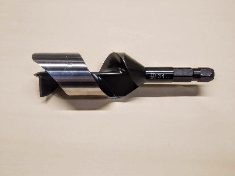 先三角ショートビット・刃径34mm