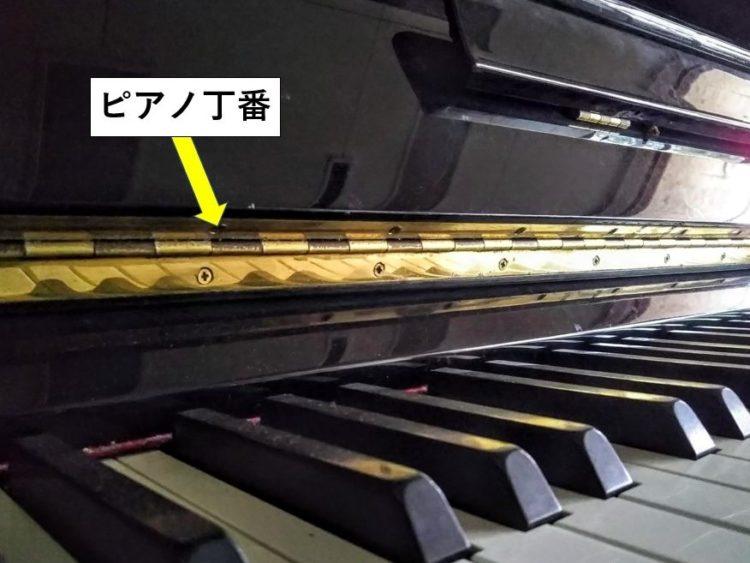 ピアノ丁番