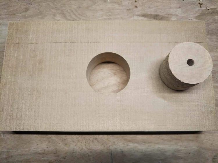 厚板(25mm以上)の穴あけ完了
