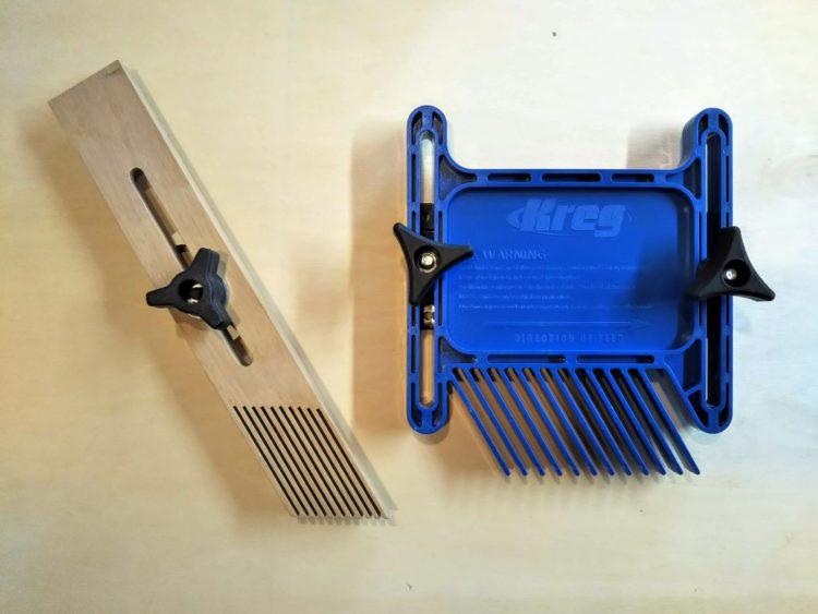 木製とプラスチック製のフェザーボード