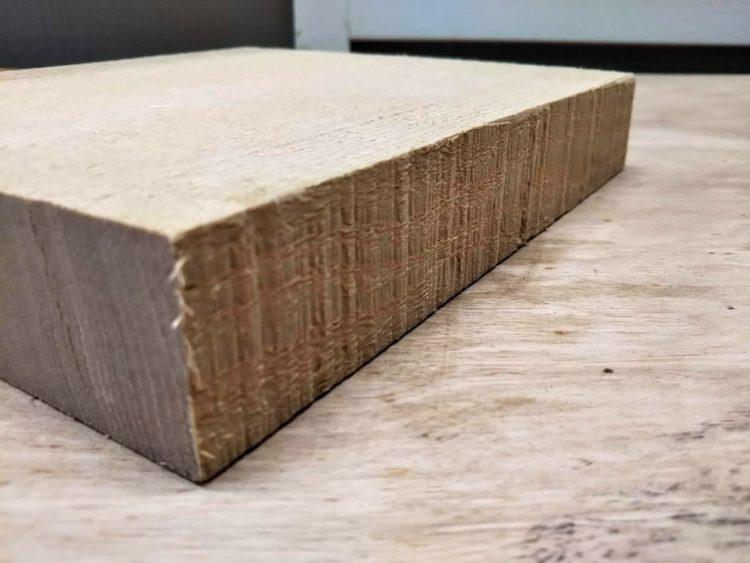 木端切削前