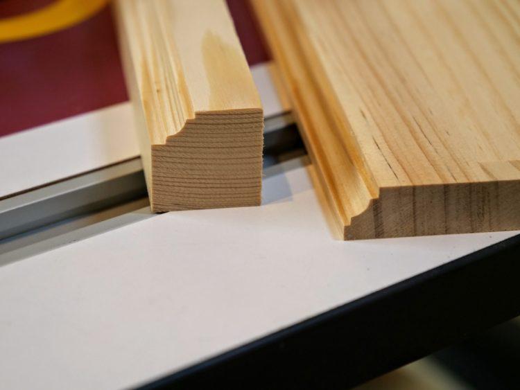 角材・板材への両段サジ面加工
