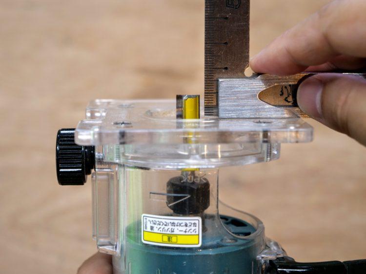 トリマービットの出寸法の計測