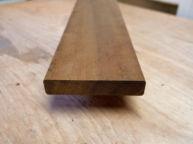 ハードウッド(イタウバ)木口面