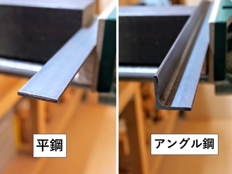 平鋼とアングル鋼